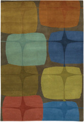 Chandra Rugs Kathryn Doherty KAT2003 Wool Area Rug