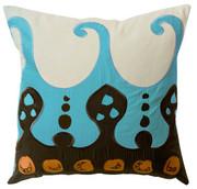 "Koko Company Coptic 22"" x 22"" Pillow - Blue"