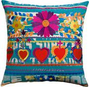 Koko Company Mexico 22 x 22 Pillow - Hearts