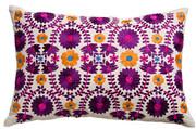 """Koko Company Mexico 13"""" x 20"""" Pillow - Floral"""