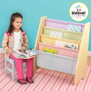 KidKraft Pastel Sling Bookcase