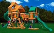 Gorilla Playsets Treasure Trove - Wood Roof