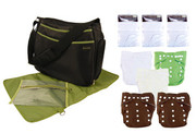 Trend Lab Cloth Diaper Starter Kit for All Babies