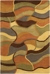 Chandra Rugs Rain RAI811 Wool Area Rug