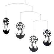 Flensted Mobiles H.C. Andersen Mobile - Black