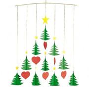 Flensted Mobiles Christmas Tree 10 Mobile