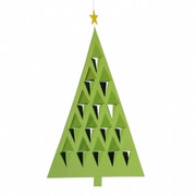 Flensted Mobiles Prism Tree  Mobile - Green