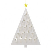 Flensted Mobiles Prism Tree  Mobile - White