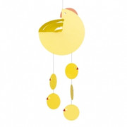 Flensted Mobiles Eastern Hen Yellow Mobile