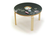 Offi and Co. Woody Chalkboard Table