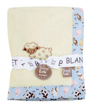 Trend Lab Baby Barnyard Framed Receiving Blanket