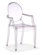 Zuo Modern Baby Anime Armchair in Transparent - Set of 2