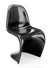 Zuo Modern S Chair in Black - Set of 2