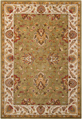 Chandra Rugs Bajrang BAJ-8003 Wool Area Rug
