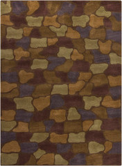 Chandra Rugs Bajrang BAJ-8016 Wool Area Rug