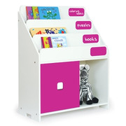 Pkolino Playful Book Shelf - Fuchsia