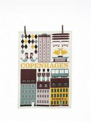 Ferm Living Copenhagen Tea Towel