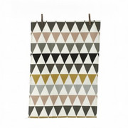 Ferm Living Triangle Tea Towel - Green