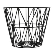 Ferm Living Wire Basket in Black - Medium