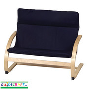 Guidecraft Kiddie Rocker Couch - Blue