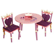 Levels of Discovery Princess Table and Two Chairs