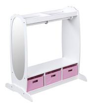 Guidecraft Dress-Up Storage Center - White