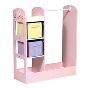 Guidecraft See and Store Dress-up Center - Pastel