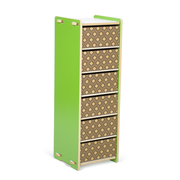 Sprout Kids 6 Drawer Organizer - Green
