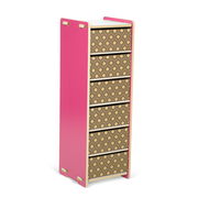Sprout Kids 6 Drawer Organizer - Pink