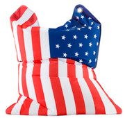 Sitting Bull Fashion Bean Bag - Stars and Stripes