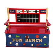 Levels of Discovery All Star Sports Kids Benches with Storage