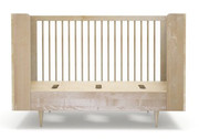 Spot On Square Ulm Toddler Bed Conversion Kit - Birch