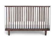 Oeuf Rhea Crib in Walnut-White