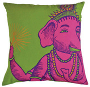Koko Company Bazaar 22 x 22 Pillow - Lime