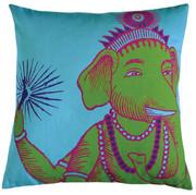 Koko Company Bazaar 22 x 22 Pillow - Turquoise