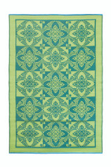Koko Company 4' x 6' Floormat Primrose - Apple Green