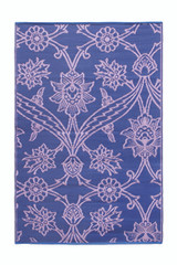 Koko Company 4' x 6' Floormat Fuchsia Flower -  Lavender
