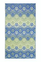 Koko Company 5' x 9' Floormat Sari Border - Lapis