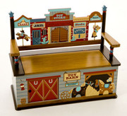 Levels of Discovery Wild West Bench Seat with Storage