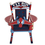 Levels of Discovery Fly Boy Airplane Rocker