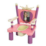 Levels of Discovery Her Majesty's Throne Princess Potty Toddlers Chair