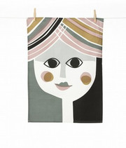 Ferm Living Mrs. Tea Towel
