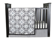 Trend Lab Medallions 3 Piece Crib Bedding Set