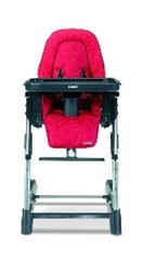 Combi High Chair - Raspberry