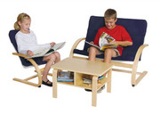 Guidecraft Nordic Rocker Reading Area - Blue