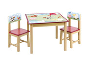 Guidecraft Farm Friends Table and Chair Set