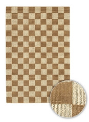 Chandra Rugs Art ART3502 Contemporary Natural Jute Rug