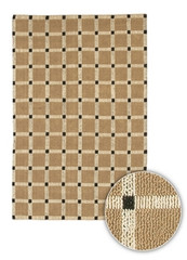 Chandra Rugs Art ART3516 Contemporary Natural Jute Rug