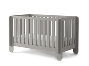 Oeuf Elephant Crib in Grey