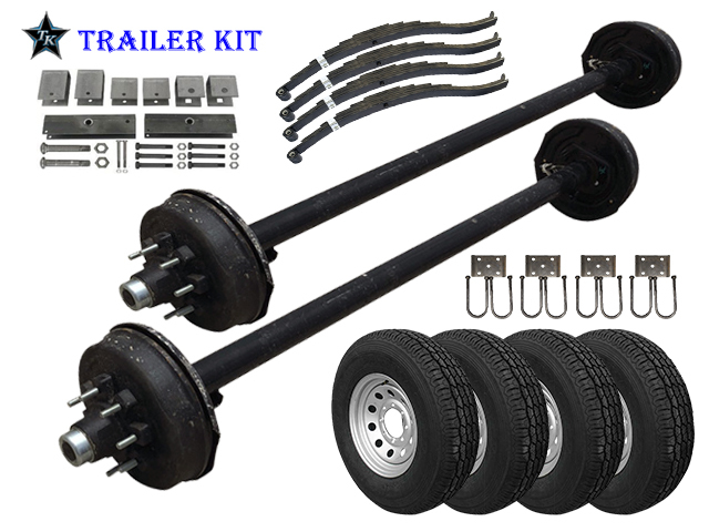 TK Trailer Kits - Everything You Need In One Bundle | The